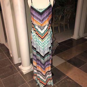 Maxi dress- Aztec print